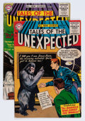 Silver Age (1956-1969):Horror, Tales of the Unexpected #2 and 3 Group (DC, 1956) Condition:Average VG.... (Total: 2 Comic Books)