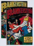 Golden Age (1938-1955):Humor, Frankenstein Comics #4 and 5 Group (Prize, 1945).... (Total: 2 Comic Books)