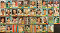 Baseball Cards:Autographs, 1961 Topps Signed Lot of 39 With Drysdale. ...