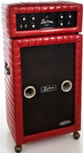 Musical Instruments:Amplifiers, PA, & Effects, 1968 Kustom K100-2 Red Sparkle Guitar Amplifier, Serial # 27291....
