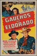 "Movie Posters:Western, Gauchos of Eldorado (Republic, 1941). One Sheet (27"" X 41""). Western.. ..."