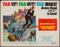 "Movie Posters:James Bond, On Her Majesty's Secret Service (United Artists, 1970). Half Sheet(22"" X 28""). James Bond.. ..."
