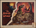 "Movie Posters:Documentary, The Animal World (Warner Brothers, 1956). Half Sheet (22"" X 28""). Documentary.. ..."