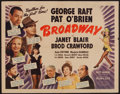 "Movie Posters:Musical, Broadway (Universal, 1942). Half Sheet (22"" X 28""). Musical.. ..."