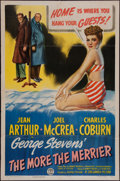 """Movie Posters:Comedy, The More the Merrier (Columbia, 1943). One Sheet (27"""" X 41""""). Comedy.. ..."""