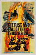 """Movie Posters:Documentary, The Rise and Fall of the Third Reich (ABC, 1968). One Sheet (27"""" X 41""""). Documentary.. ..."""