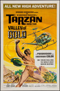 """Movie Posters:Adventure, Tarzan and the Valley of Gold (American International, 1966). OneSheet (27"""" X 41""""). Adventure.. ..."""