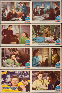 """Undercurrent (MGM, 1946). Lobby Card Set of 8 (11"""" X 14""""). Film Noir. ... (Total: 8 Items)"""