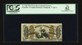 Fractional Currency:Third Issue, Fr. 1363 50¢ Third Issue Justice PCGS Apparent New 62.. ...