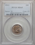 Barber Dimes: , 1912 10C MS65 PCGS. PCGS Population (142/45). NGC Census: (151/40).Mintage: 19,350,000. Numismedia Wsl. Price for problem ...