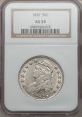 Bust Half Dollars: , 1826 50C AU53 NGC. NGC Census: (108/942). PCGS Population(131/842). Mintage: 4,000,000. Numismedia Wsl. Price for problem...