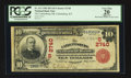 National Bank Notes:Kentucky, Catlettsburg, KY - $10 1902 Red Seal Fr. 613 The Catlettsburg NBCh. # (S)2740. ...