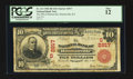 National Bank Notes:Kentucky, Hustonville, KY - $10 1902 Red Seal Fr. 613 The NB of HustonvilleCh. # (S)2917. ...