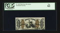 Fractional Currency:Third Issue, Fr. 1365 50¢ Third Issue Justice PCGS New 62.. ...