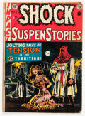 Golden Age (1938-1955):Horror, Shock SuspenStories #6 (EC, 1952) Condition: FR....