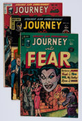 Golden Age (1938-1955):Horror, Journey Into Fear Group (Superior, 1951-54).... (Total: 5 ComicBooks)