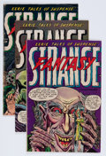 Golden Age (1938-1955):Horror, Strange Fantasy #6, 7, and 9 Group (Farrell, 1953-54).... (Total: 3Comic Books)