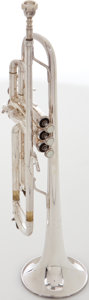 Musical Instruments:Horns & Wind Instruments, Bach TR200 Silver Trumpet, Serial # 378962. ...