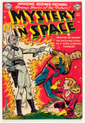 Golden Age (1938-1955):Science Fiction, Mystery in Space #4 (DC, 1951) Condition: FN....