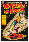 Golden Age (1938-1955):Science Fiction, Mystery in Space #5 (DC, 1952) Condition: VG....