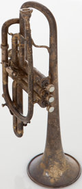 Musical Instruments:Horns & Wind Instruments, 1914 King Master Silver Cornet, Serial # 36208. ...