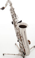 Musical Instruments:Horns & Wind Instruments, C.G. Conn Silver Melody Saxophone, Serial # 59215. ...