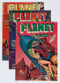 Golden Age (1938-1955):Science Fiction, Planet Comics Group (Fiction House, 1951-53).... (Total: 5 ComicBooks)