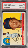 Baseball Cards:Singles (1950-1959), 1955 Topps Harmon Killebrew #124 PSA NM-MT 8....