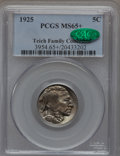 Buffalo Nickels: , 1925 5C MS65+ PCGS. CAC. Ex: Teich Family Collection. PCGSPopulation (481/220). NGC Census: (192/131). Mintage: 35,565,100...