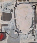 Post-War & Contemporary:Abstract Expressionism, RICHARD DIEBENKORN (American, 1922-1993). Untitled, c. 1951.Oil on canvas. 17-5/8 x 15-3/8 inches (44.7 x 39.1 cm). Ini...