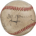 Autographs:Baseballs, 1940's Cy Young Single Signed Baseball, PSA/DNA EX+ 5.5....