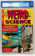 Golden Age (1938-1955):Science Fiction, Weird Science #13 (#2) Gaines File pedigree 7/10 (EC, 1950) CGC NM+9.6 Off-white pages....