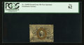 Fractional Currency:Second Issue, Fr. 1244SP 10¢ Second Issue Narrow Margin Face PCGS New 62.. ...