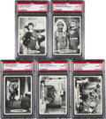 Non-Sport Cards:Lots, 1966 Topps Superman PSA Gem MT 10 Collection (5) - All Low Pops....