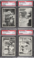 Non-Sport Cards:Lots, 1966 Topps Superman PSA Gem MT 10 Collection (4) - Each Pop One!...