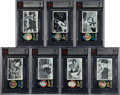 Baseball Cards:Lots, 1971 Topps Greatest Moments BVG-Graded Collection (7). ...