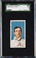 Baseball Cards:Singles (Pre-1930), 1909-11 T206 Sweet Caporal Eddie Plank SGC 60 EX 5 -Pop One, OnlyTwo Higher! ...