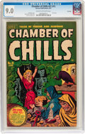 Golden Age (1938-1955):Horror, Chamber of Chills #21 (#1) File Copy (Harvey, 1951) CGC VF/NM 9.0Cream to off-white pages....