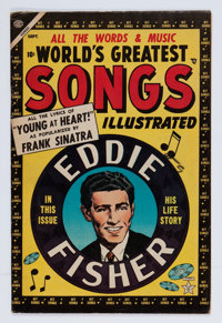 World's Greatest Songs #1 (Atlas, 1954) Condition: VG/FN