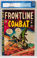 Golden Age (1938-1955):War, Frontline Combat #3 Gaines File pedigree 2/9 (EC, 1951) CGC NM+ 9.6 Off-white to white pages....