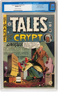 Golden Age (1938-1955):Horror, Tales From the Crypt #20 (#1) Gaines File pedigree 11/11 (EC, 1950)CGC NM/MT 9.8 Off-white to white pages....