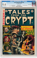 Golden Age (1938-1955):Horror, Tales From the Crypt #34 Gaines File pedigree 12/12 (EC, 1953) CGCNM 9.4 Off-white pages....