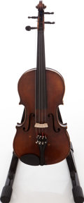 Musical Instruments:Violins & Orchestra, E. Martin Sachsen Brown Stain Violin. ...