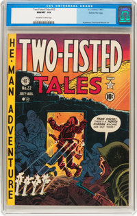Two-Fisted Tales #22 Gaines File pedigree 3/10 (EC, 1951) CGC NM/MT 9.8 Off-white to white pages