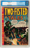 Golden Age (1938-1955):War, Two-Fisted Tales #25 Gaines File pedigree 7/10 (EC, 1952) CGC NM 9.4 Off-white pages....