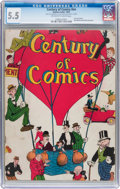 Platinum Age (1897-1937):Miscellaneous, Century of Comics #nn (Eastern Color, 1933) CGC FN- 5.5 Off-whiteto white pages....