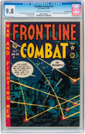 Golden Age (1938-1955):War, Frontline Combat #5 Gaines File pedigree pedigree 2/10 (EC, 1952)CGC NM/MT 9.8 Off-white to white pages....