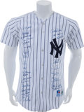 Autographs:Jerseys, 1998 New York Yankees Team Signed Jersey....