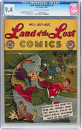 Land of the Lost Comics #1 (EC, 1946) CGC NM 9.4 Cream to off-white pages