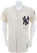 "Baseball Collectibles:Uniforms, Early 1990's Mickey Mantle ""No. 6 1951"" New York Yankees Jersey...."